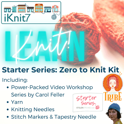 Starter Series: Zero to Knit Kit tribeyarns Event