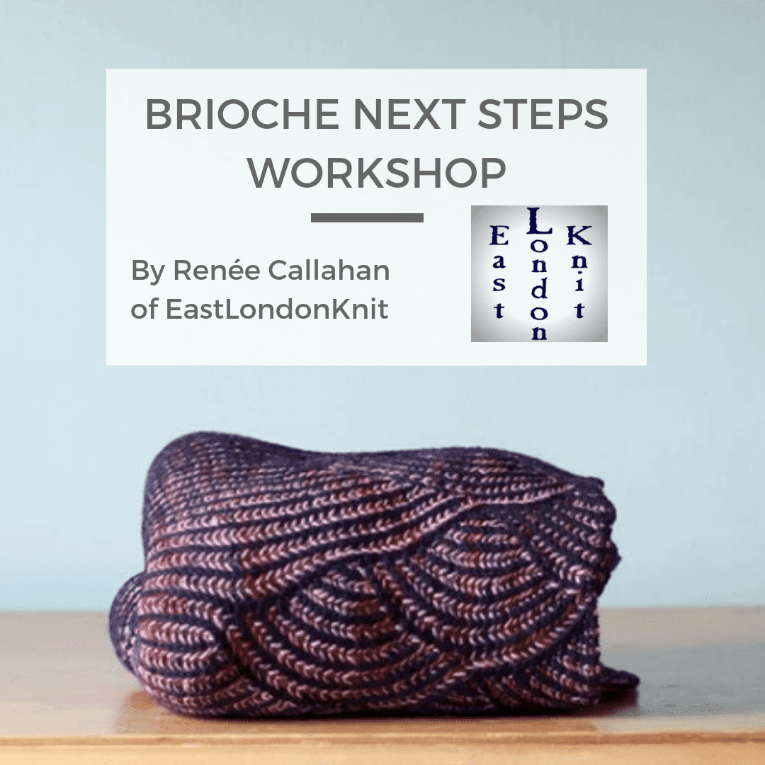 Sun 13th Oct: Brioche Next Steps with Renée Callahan tribeyarns Event