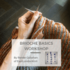 Sun 22nd Mar: Brioche Basics with Renée Callahan tribeyarns