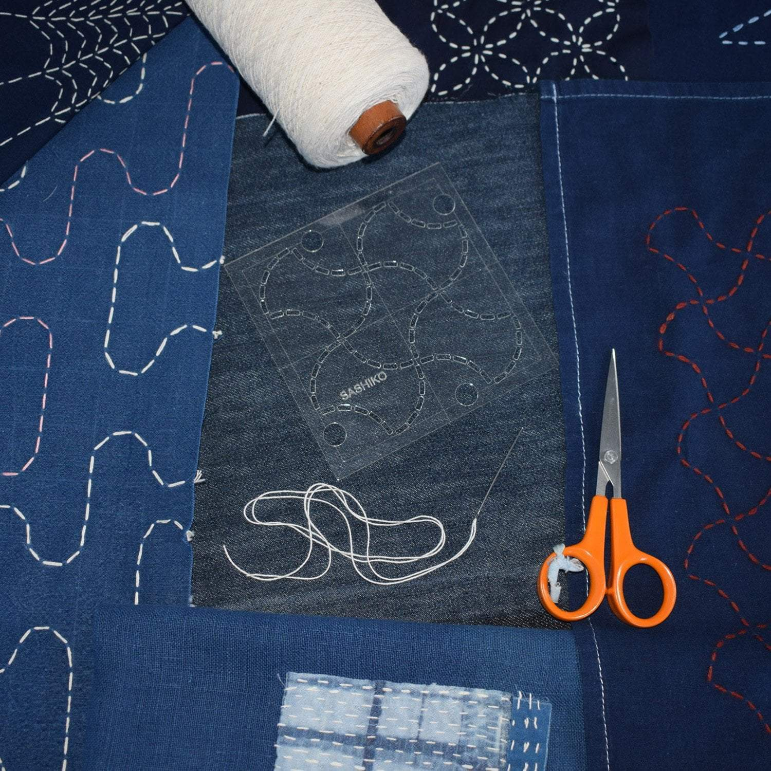 Sun 23rd Feb: Japanese Sashiko Embroidery tribeyarns Event