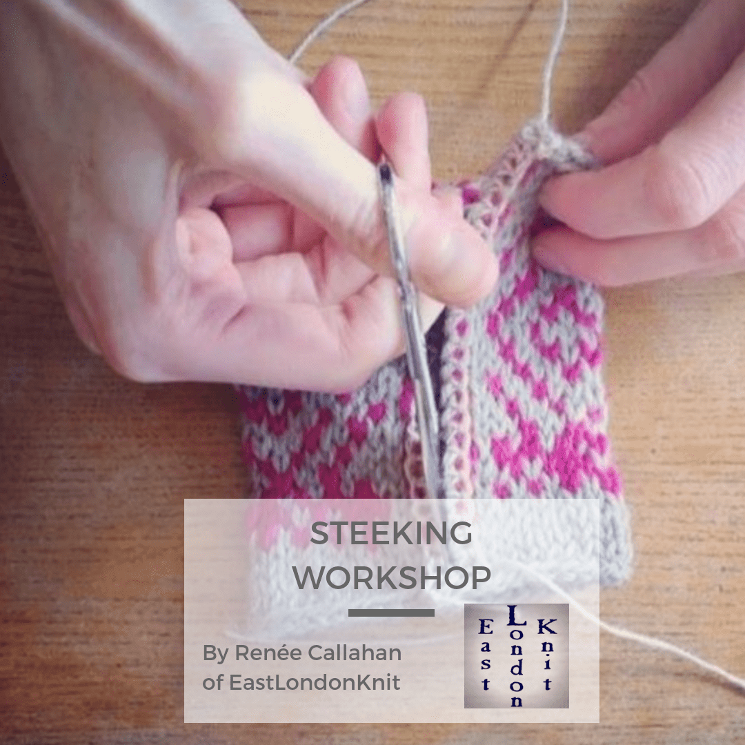 Sun 27th Oct: STEEKING: Making the Cut with Renée Callahan tribeyarns Event