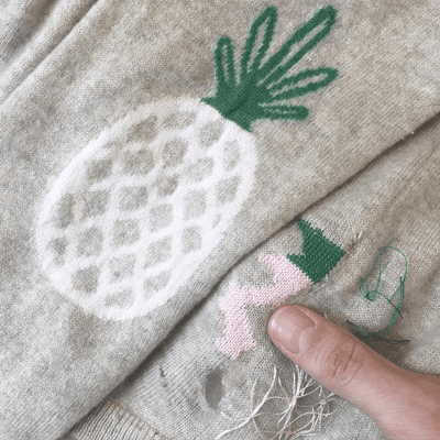 Sun 2nd Feb: Darning Big Holes with Tom of Holland tribeyarns Event