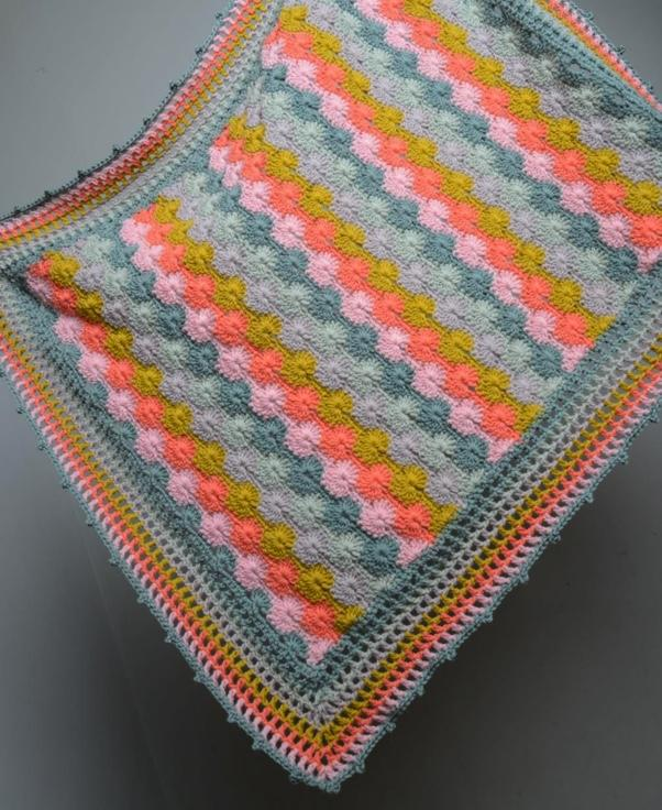 Sunset Baby Blanket CROCHET Pattern Mrs Moon Pattern