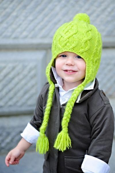 Sweet n Sour Apple Hat Pattern Tot Toppers Knitting Pattern