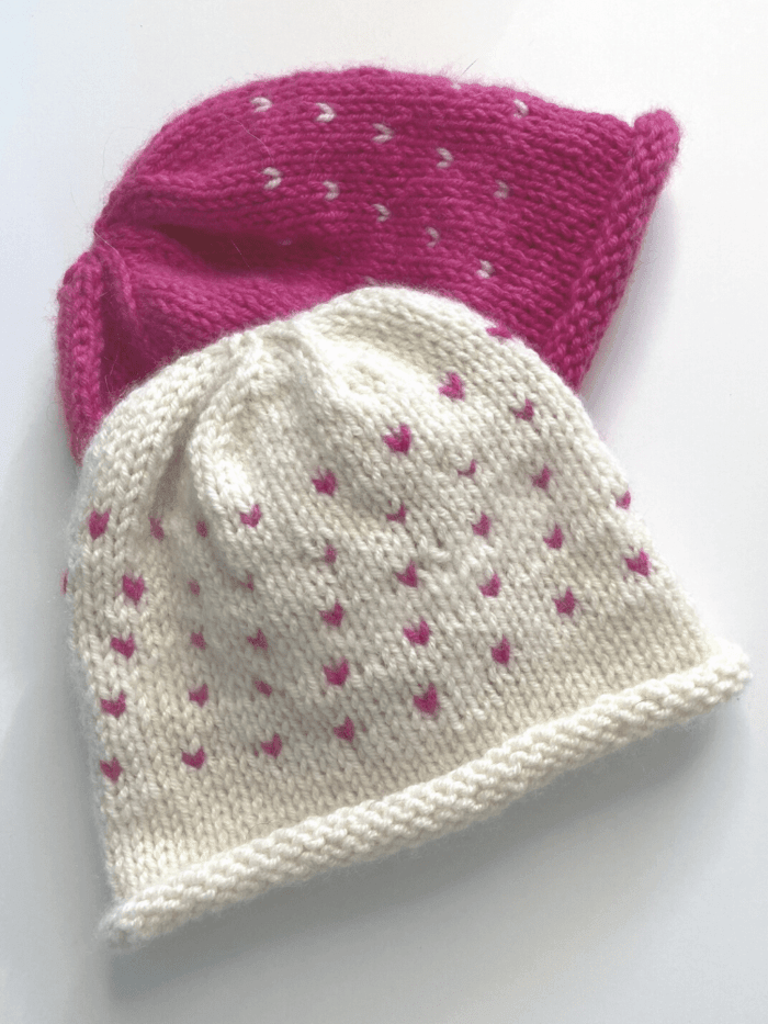Sweethearts Hats Pattern by Clinton Hill Cashmere Clinton Hill Cashmere Pattern