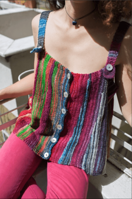 Swing Tank Top Pattern Urth Yarns Knitting Pattern
