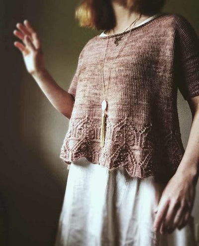 Tegna Sweater Pattern by Caitlin Hunter tribeyarns Pattern