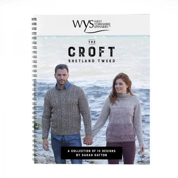 The Croft Pattern Book West Yorkshire Spinners Book Front Cover