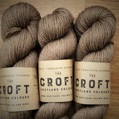 The Croft Shetland Colours West Yorkshire Spinners Yarn Bixter 421