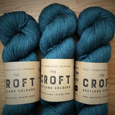 The Croft Shetland Colours West Yorkshire Spinners Yarn Seafield 339