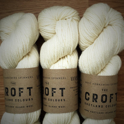 The Croft Shetland Colours West Yorkshire Spinners Yarn Sullom 010