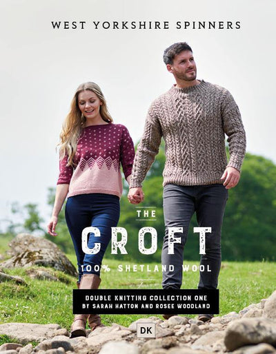 The Croft Shetland DK Pattern Book West Yorkshire Spinners Book