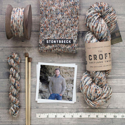 The Croft Shetland Tweed West Yorkshire Spinners Yarn
