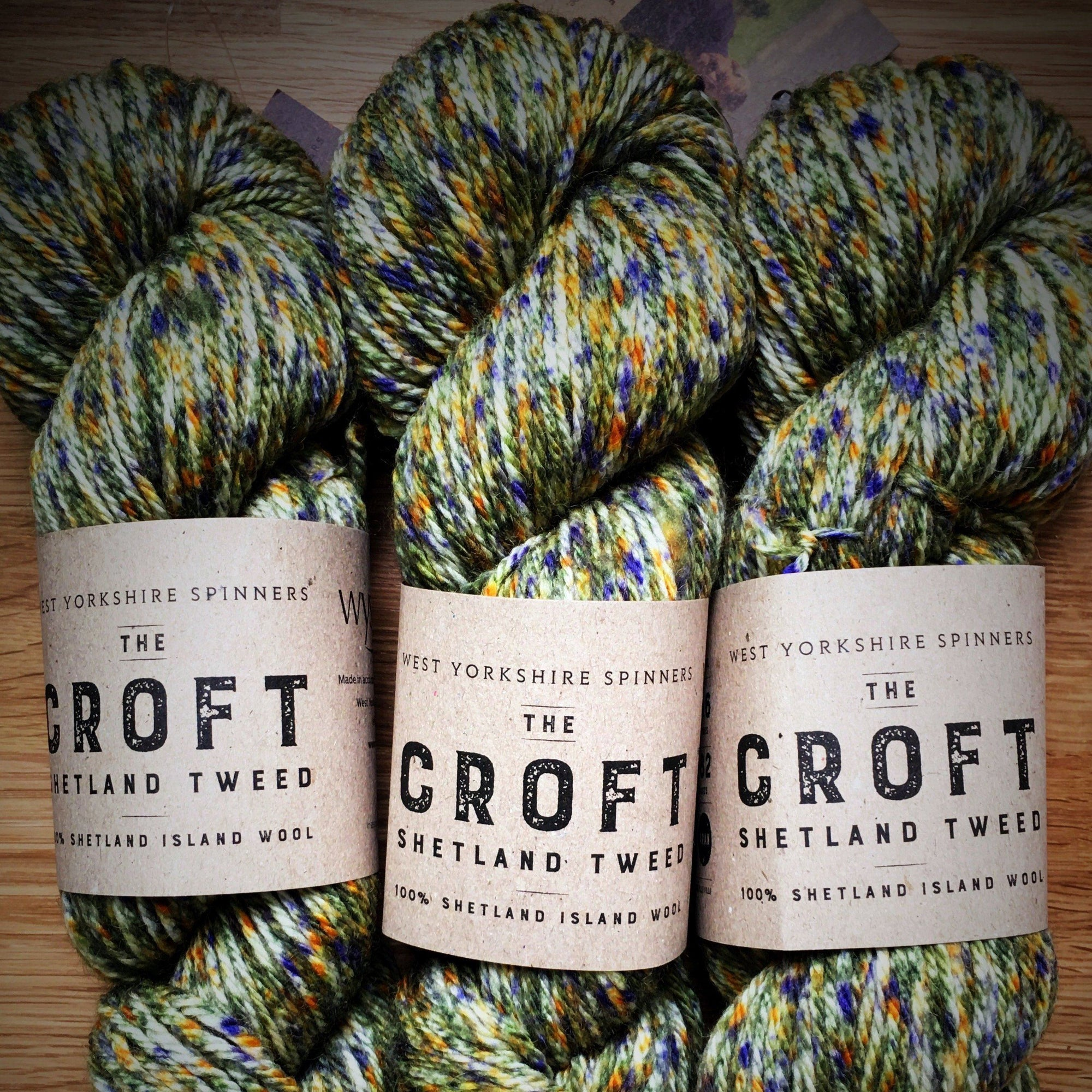 The Croft Shetland Tweed West Yorkshire Spinners Yarn Mossbank 757