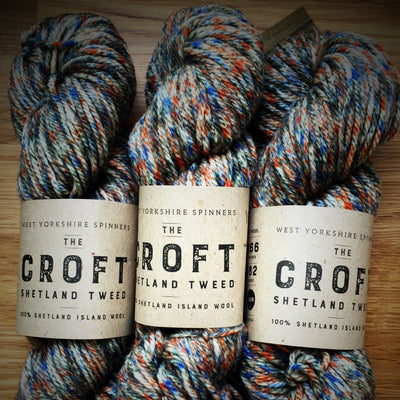 The Croft Shetland Tweed West Yorkshire Spinners Yarn Stonybreck 759