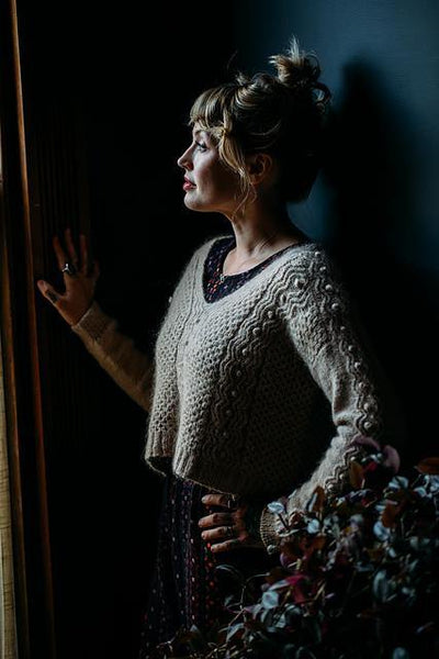 The Daydreamer Sweater Pattern by Andrea Mowry tribeyarns Pattern