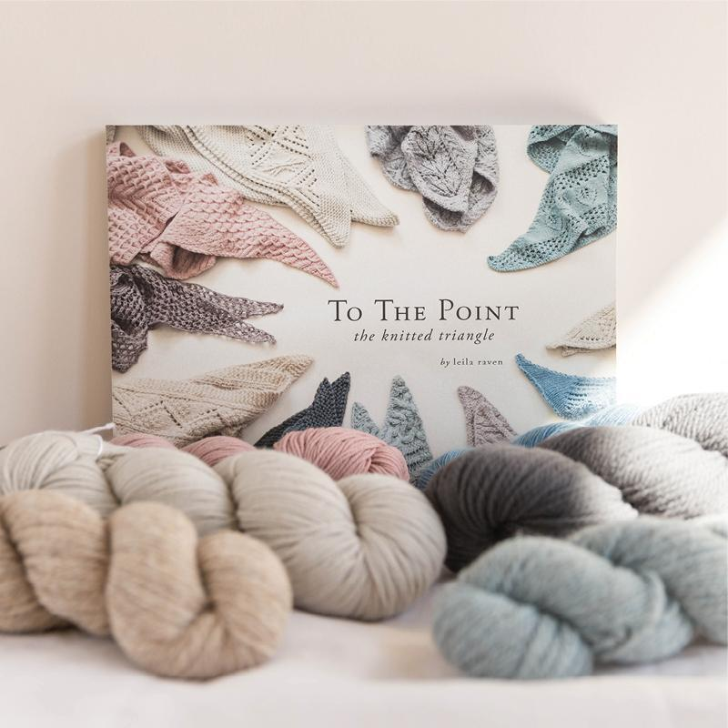 To The Point: The Knitted Triangle Quince & Co. Book
