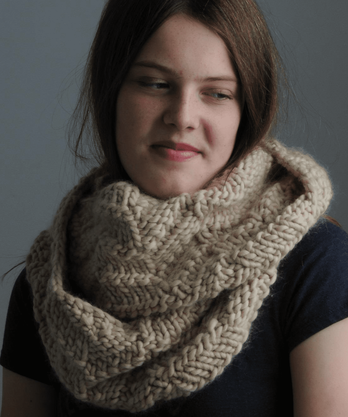 Toffee Cowl Pattern Mrs Moon Pattern