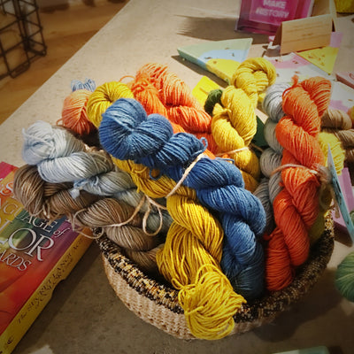 Town Dyer BFL Mini-Bundles Town Dyer Yarn