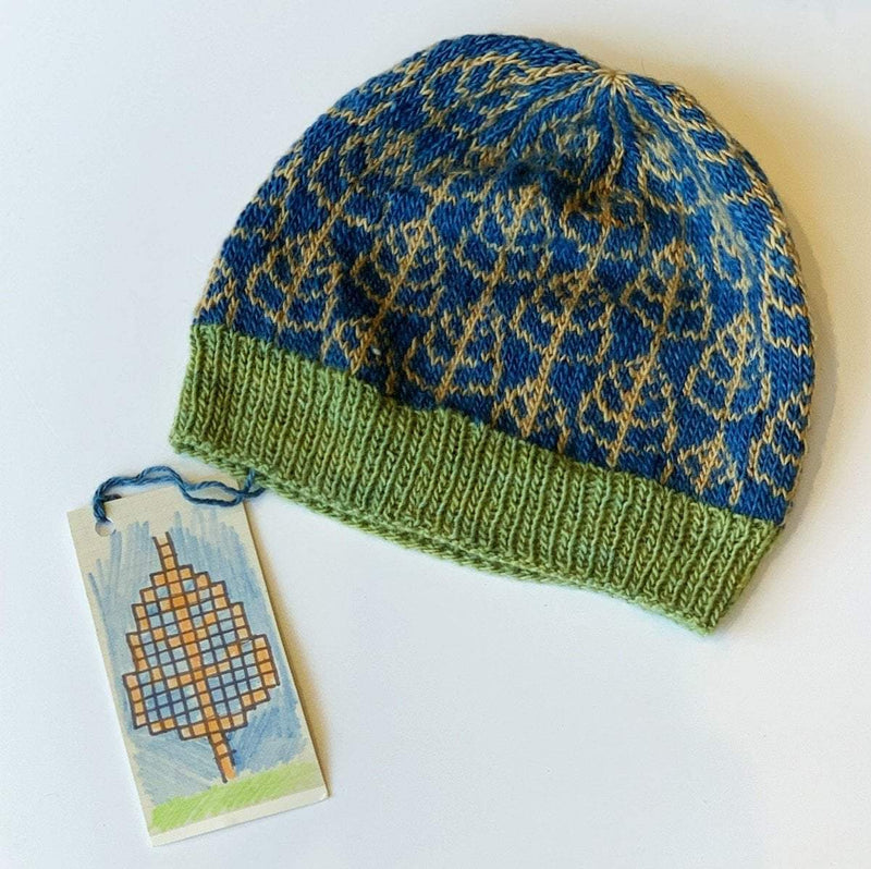 Trava Autumn Hat Kits Trava & Wool Kits & Combos Blue, Green, Indigo