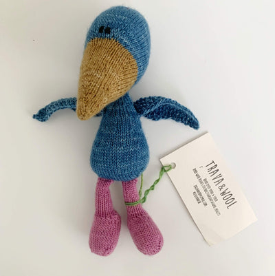 Trava Handknit Birds Trava & Wool Other Stuff Bird III