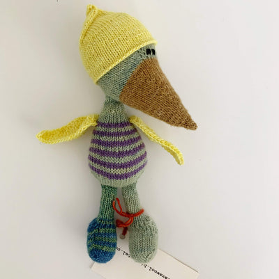 Trava Handknit Birds Trava & Wool Other Stuff Bird V