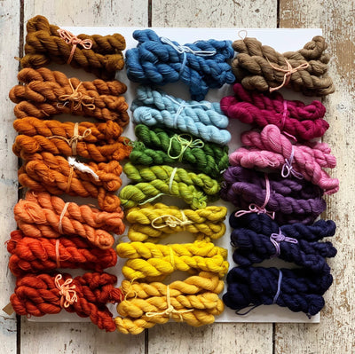 Trava Merino Micro Skeins / Embroidery Threads Trava & Wool Yarn