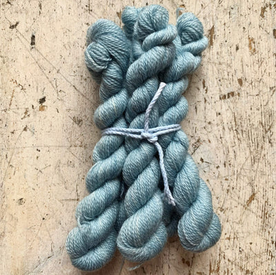Trava Merino Micro Skeins / Embroidery Threads Trava & Wool Yarn Sky Blue Micro