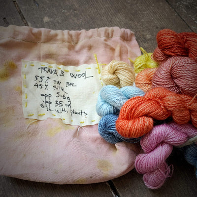 Trava Micro Skein / Embroidery Thread Bundles Trava & Wool Kits & Combos