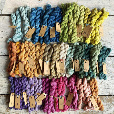 Trava Pure Silk Micro Skeins / Embroidery Threads Trava & Wool Yarn