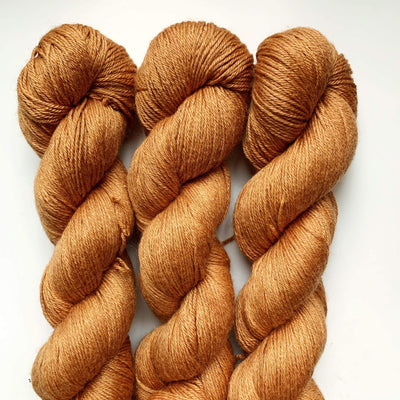 Trava Silk+Merino Trava & Wool Yarn Madder Marigold SM