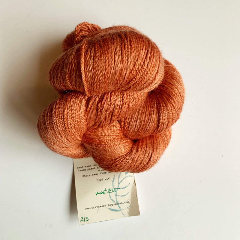 Trava Silk+Merino Trava & Wool Yarn SM Madder