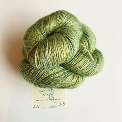 Trava Silk+Merino Trava & Wool Yarn SM Achillea Indigo
