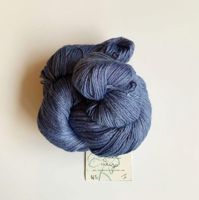 Trava Silk+Merino Trava & Wool Yarn SM Logwood Indigo