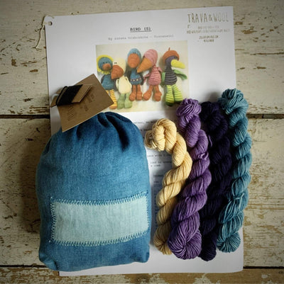 Trava Toy Animal Knit Kits Trava & Wool Kits & Combos Bird 2
