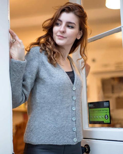 Tread Work Cardigan Pattern Walcot Yarns Pattern