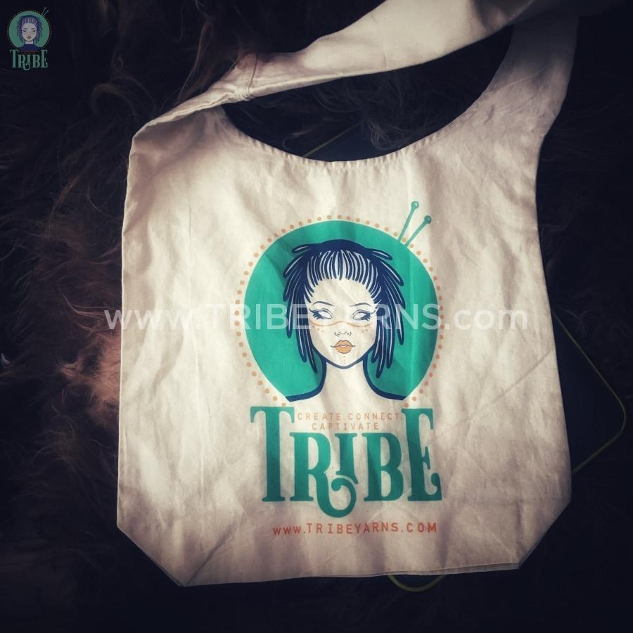 Tribe Cotton Sling Bag tribeyarns Bags & Cases Aqua Bag