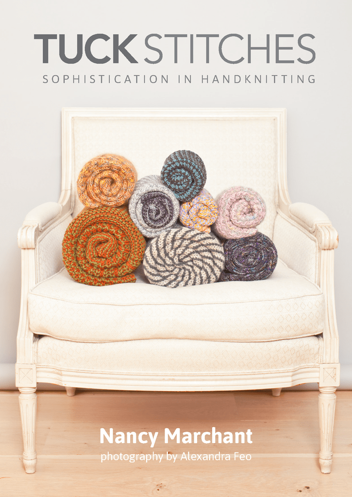 Tuck Stitches Nancy Marchant Book Front Cover