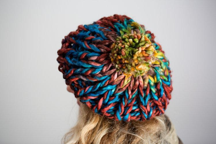 Tulip Hat Pattern Urth Yarns Knitting Pattern