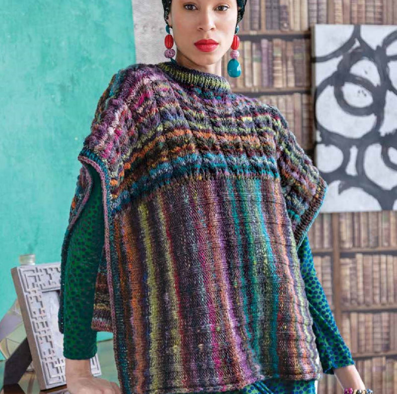 Two-Direction Poncho Pattern by Noro Noro Pattern
