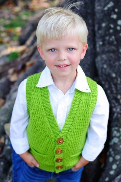Tycoon Vest Pattern Tot Toppers Knitting Pattern