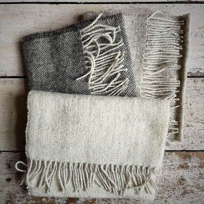 Uist Woven Caengail Scarf Uist Wool Other Stuff