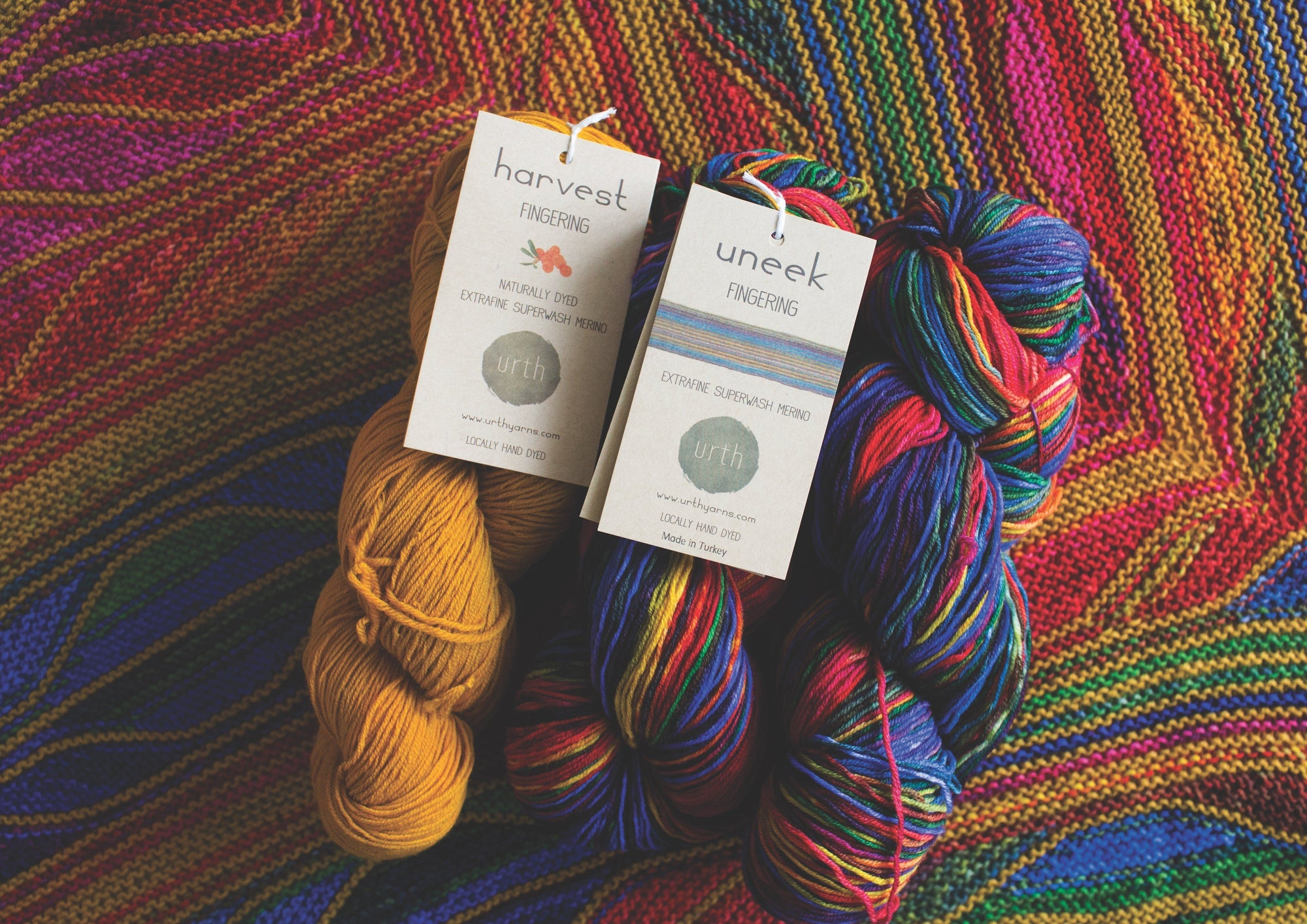 Uneek Fingering Urth Yarns Yarn