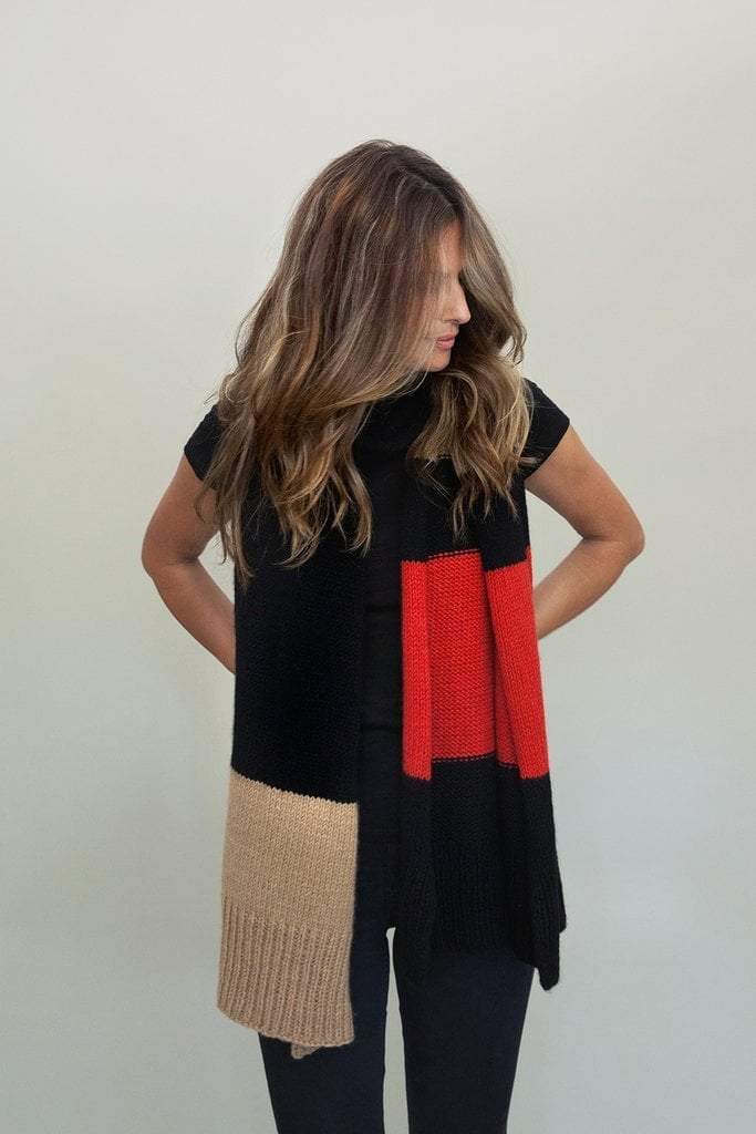 Urban Wrap Pattern by Clinton Hill Cashmere Clinton Hill Cashmere Pattern