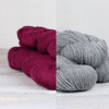 Virtual Learn to Knit Course: 18th & 25th April tribeyarns Cowberry/Isel