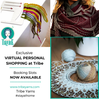Virtual Personal Shopping at Tribe tribeyarns Event 20m