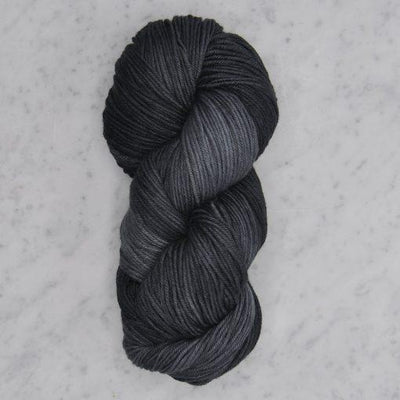 Washable Wool dk Swans Island Yarn Graphite 204