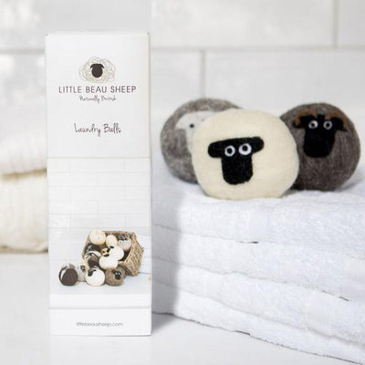 Wool Dryer Balls Little Beau Sheep Washing