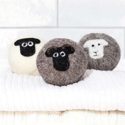 Wool Dryer Balls Little Beau Sheep Washing Mixed Sheep