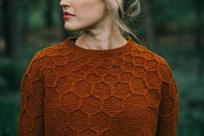 Wool & Honey Sweater Pattern by Andrea Mowry baa ram ewe Pattern